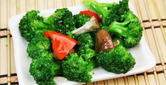庭院种菜有机松花菜、西兰花的作用